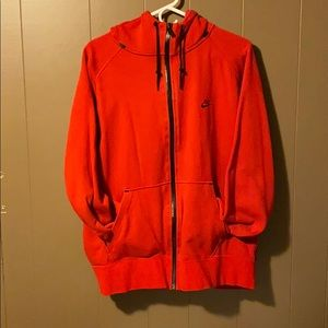 NIKE ZIP UP HOODIE SWEATSHIRT (MENS XL)